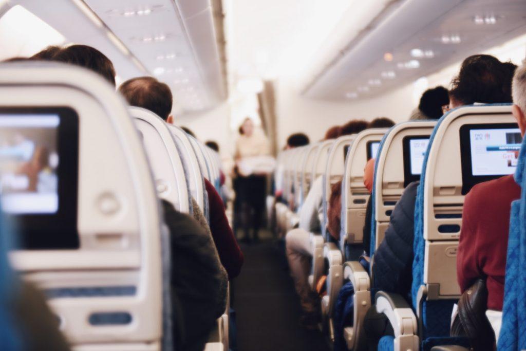 pokład samolotu - jet lag